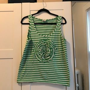 Kate spade stretchy tank top