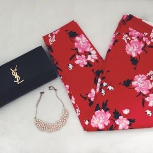Old Navy Pants - Red Blossom Pants