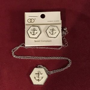 Jewelry - NWT ANCHOR NECKLACE SET