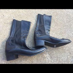 Women's Vintage Stuart Weitzman Black Boots 7.5B
