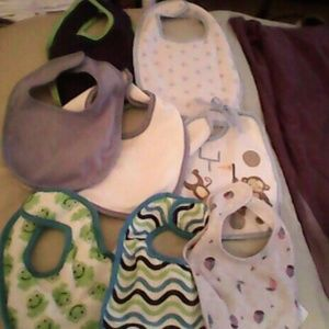 Other - 8 baby bibs