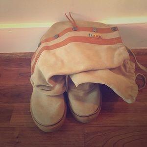 L.A.M.B. Shoes - ✨SALE✨Zeyn Canvas L.A.M.B. Boots