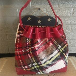 Burberry Handbags - Sale!!Authentic Vintage Burberry BucketBag - Firm