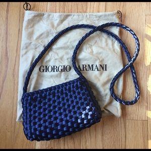 Giorgio Armani Handbags - 🌟Vintage Giorgio Armani woven cross-body purse🌟