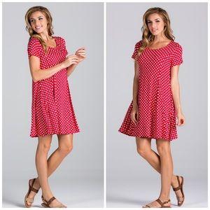 Threads & Trends Dresses & Skirts - Polkadot Swing Dress