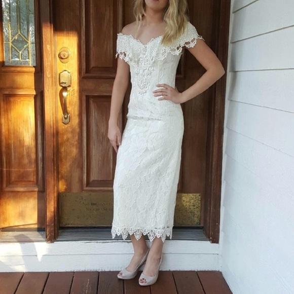 Vintage Scott McClintock wedding dress