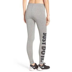 Nike grey leggings size S NWT