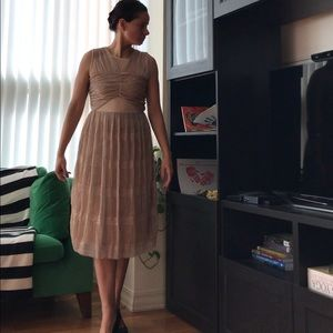 River Island Dresses & Skirts - River Island Rose Gold Cocktail Dress - Firm Price