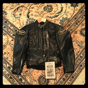Vanson made in USA Jackets & Blazers - NWT VANSON leather motorcycle jacket size Xs