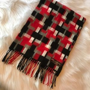 scotland Other - 100% cashmere scarf made in Scotland color blocked