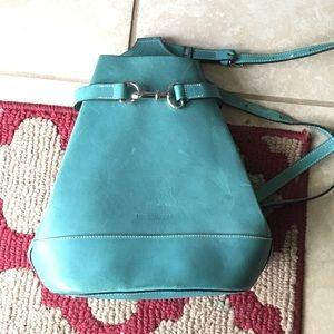 Dooney & Bourke Handbags - Vintage Dooney & Bourke Turquoise Bucket Bag