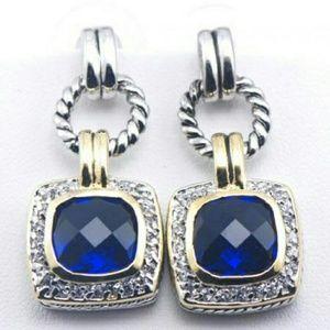 Jewelry - Beautiful Blue Sapphire Earrings