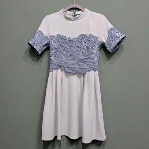 Topshop lace dress size US 6