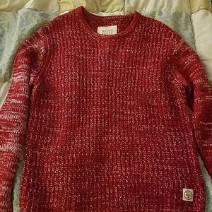 NATIVE YOUTH Other - red sweater for men