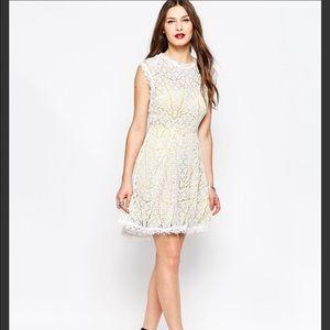 Adeline Rae lace dress