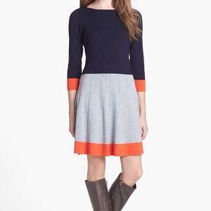 Eliza J Dresses & Skirts - Eliza J. Colorblock Sweater Dress