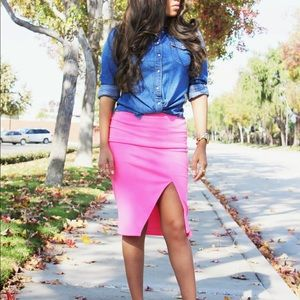 ***PRICE REDUCED*** Lucy Paris Pink Skirt