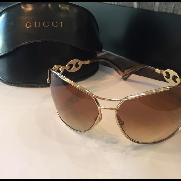 half off 3a42c c786d Gucci GG275/s Sunglasses Brown