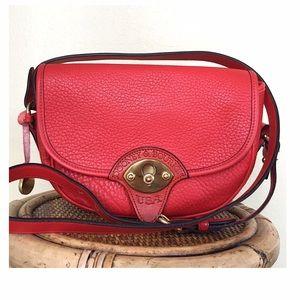 Dooney & Bourke Handbags - VINTAGE DOONEY AND BOURKE CAVALRY TROOPER BAG