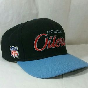 2d812cdd3 Sports Specialties Accessories - Vintage Sports Specialties Hat Houston  Oilers