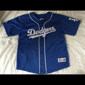 Majestic Other - Boys Dodgers jersey shirt