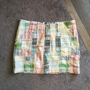 Tailor Vintage Dresses & Skirts - Tailor Vintage Nordstrom Patchwork Skirt Sz 4 ☀️