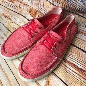 Tretorn Shoes - Tretorn Otto Linen Sneaker men's 9 women's 10-1/2