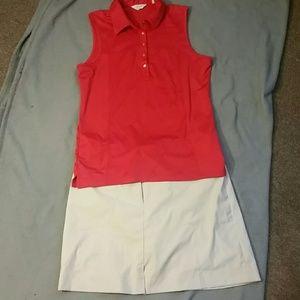 Callaway Tops - Ladies sleeveless golf shirt