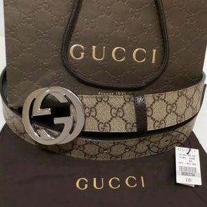 Gucci Other - Gucci 34 - 36 Waist Belt Mens Sz 100 NWT