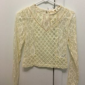 INA Tops - Lace Crop Top