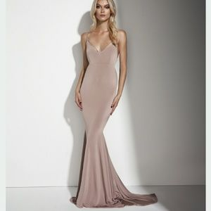 Sherri Hill Dresses & Skirts - Gemeli Power nude Evgeni Dress