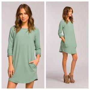 Hannah Beury Dresses & Skirts - Sage Raglan Dress