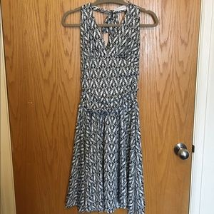 A.P.N.Y. Dresses & Skirts - Black and White Halter Dress