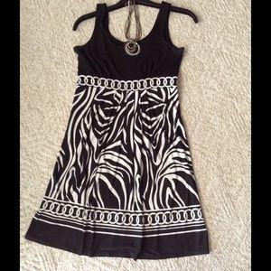 Glamour & Co. Dresses & Skirts - Black & white  dress