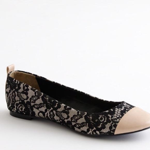 Michelle D Shoes Womens M Black Flat