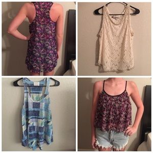 PacSun Tops - ☀️4 tanks Urban Outfitters☀️