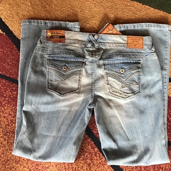 198cfc9c244 Amethyst jeans plus sz 16 20 22 fit   flare NWT