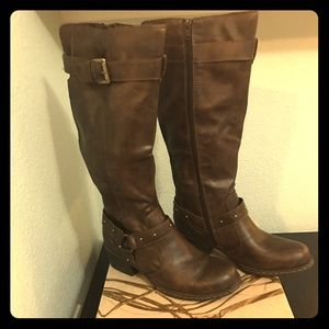 b.o.c. Shoes - NWB B.O.C Mahers Distressed Wester Brown Boots 7.5