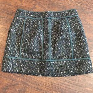 J. Crew Boucle Mini Skirt