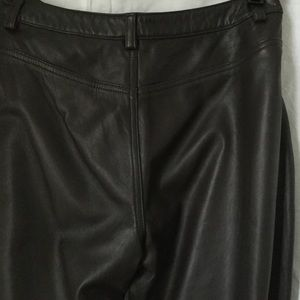 Eddie Bauer leather pant