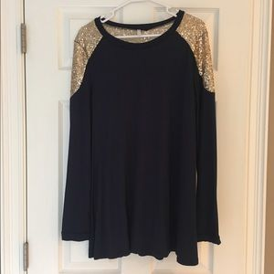 Pinkblush Tops - New! Pinkblush women's sequence top NWOT