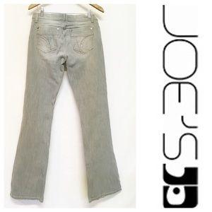 Joe's Jeans Denim - Joe's Grey Rocker Flare Premium Jeans