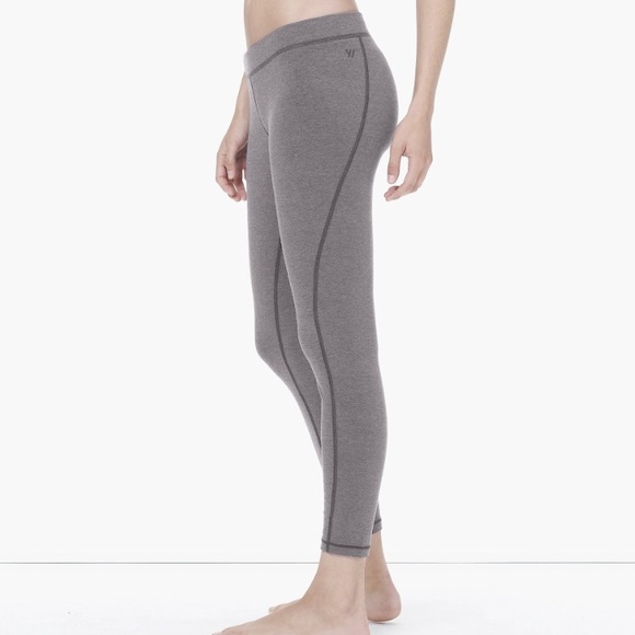 5c005e7f3f4a6 James Perse Pants - James Perse Gray Yosemite Spiral Seam Yoga Pant
