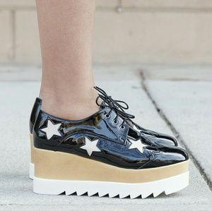 Stella McCartney Shoes - Last 8.5!!! Oxnard Platfforms patent black