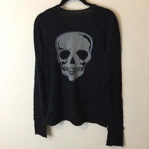 Zadig & Voltaire Sweaters - Zadig & Voltaire Black Skull Bad Ass Sweater Shirt
