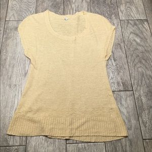 Margaret O'Leary Tops - Margaret O'leary yellow sweater