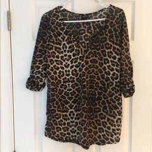 Rue21 Tops - Women's leopard shirt