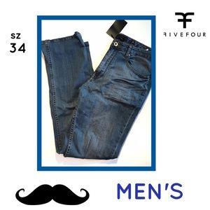 Five Four Other - NWT FIVE FOUR BLUE JEANS MENS SZ 34