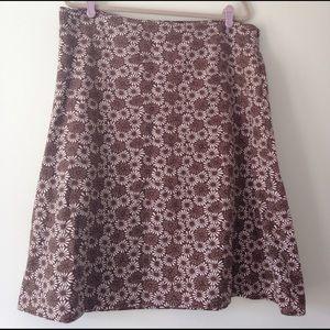 Eddie Bauer Dresses & Skirts - Eddie Bauer floral skirt