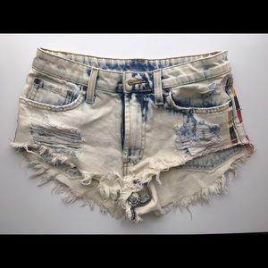 LF carmar jean shorts
